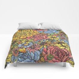 Flowers Flowers Flowers Comforters