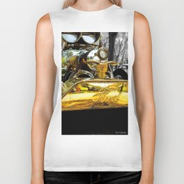 FLAMES AND CARBS Biker Tank