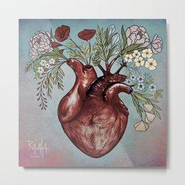 """Your beautiful heart"" Metal Print"
