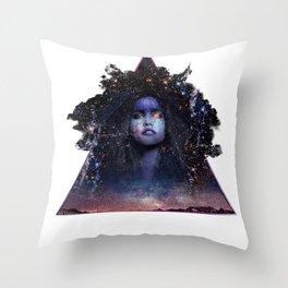 Star Gazer Throw Pillow