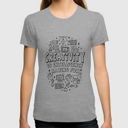 Creativity Intelligence Motivation teacher gift T-shirt