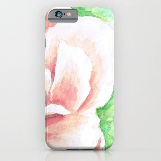 Watercolor Rose iPhone & iPod Case