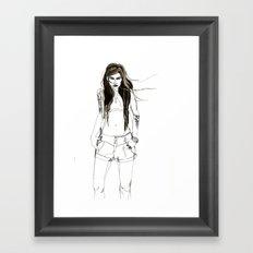 Bitter sweet Framed Art Print