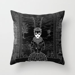 Parallaxium Princess Edia Throw Pillow