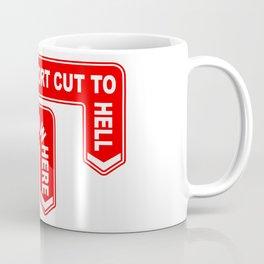 A Pair of Warning Signs Coffee Mug