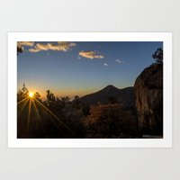 Barr Camp Sunrise Art Print
