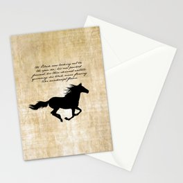 The Black Stallion - Walter Farley Stationery Cards
