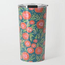 Chrysanthemum Travel Mug