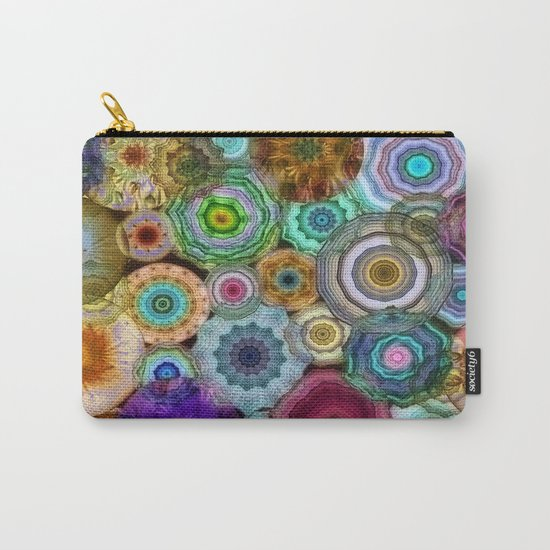 Flowery Meadow 3 Carry-All Pouch