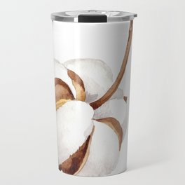 Cotton Flower 01 Travel Mug
