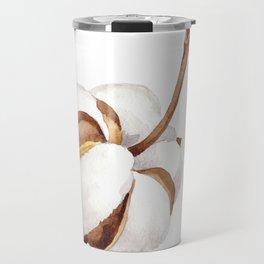 Cotton Flower 01 Travel Mug