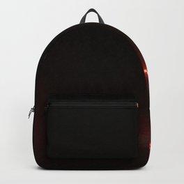 Abstracte Light Art in the Dark 12 Backpack