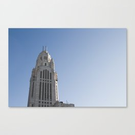 LeVeque Tower Canvas Print