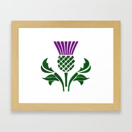 92284a8dc Scottish Thistle Framed Art Prints | Society6