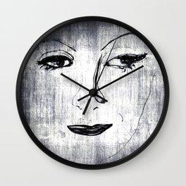 Greta (two) Wall Clock
