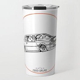 Crazy Car Art 0218 Travel Mug