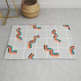 Curly fries inspired Rug