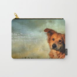 A Dogs Love Carry-All Pouch