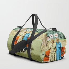 Two Cool Kitties: What's for Lunch? Duffle Bag