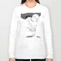 boys Long Sleeve T-shirts featuring Boys by vooduude