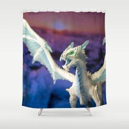 Ice Dragon 4 Shower Curtain