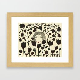 Friends with the Flowers Framed Art Print