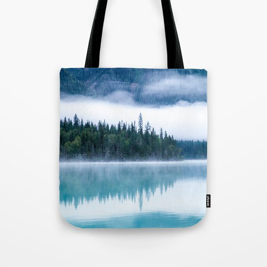 Blue nature #reflection Tote Bag