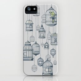 Last Bird in the Shop iPhone Case