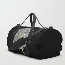 Dandelion flower Duffle Bag