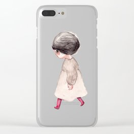 Little girls Clear iPhone Case