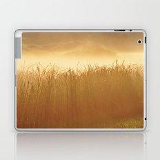 Field Grass in the Mist  2 Laptop & iPad Skin