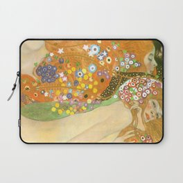 "Gustav Klimt ""Water Serpents"" Laptop Sleeve"
