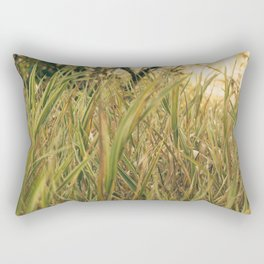 Lost in the Grasses (camo) Rectangular Pillow