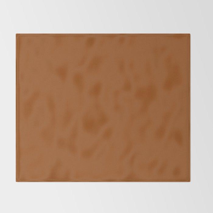 Cello Admiration ~ Ginger Throw Blanket