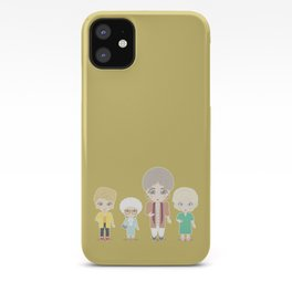 Girls in their Golden Years iPhone Case