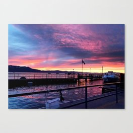 South Lake Tahoe Sunset Canvas Print