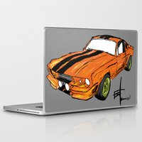 mustang Laptop & iPad Skins featuring Mustang by Portugal Design Lab