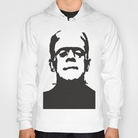 frankenstein Hoodies featuring Frankenstein by b & c