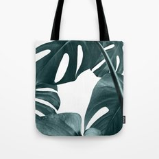 Monstera leaf art Tote Bag