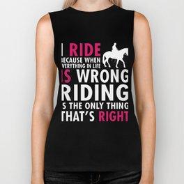 I Ride Biker Tank