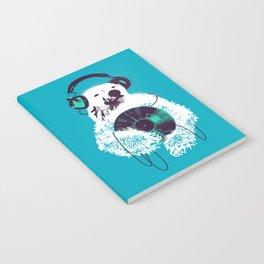Record Bear Notebook