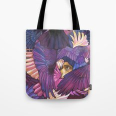 A Murder of Ravens Tote Bag