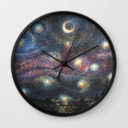 Starry Night 2 of 3 Wall Clock