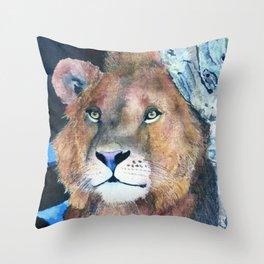 Ever Watchful by Maureen Donovan Throw Pillow