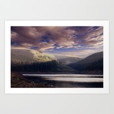 Dawn in the Valley Art Print
