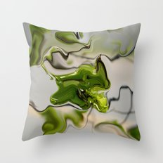 Amazonite - Abstract Throw Pillow