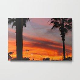 Florida|Sky. Metal Print