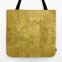 Antique Gold Glitter Tote Bag