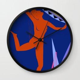 Dancing Maenad Wall Clock