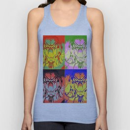 Predator Pop Art Unisex Tank Top